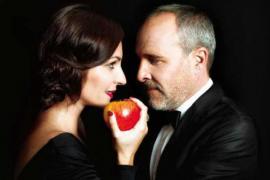 Ana Milán y Guillén Cuervo, Adán y Eva, hablan de amor en el Auditòrium