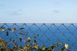 Horizonte en el mar