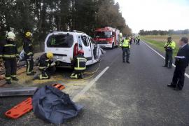 Un conductor de 64 años muere en un accidente en la carretera de Son Servera
