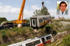 El maquinista del tren de Manacor siniestrado en Sineu continúa en la UCI en estado crítico