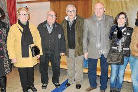 Presentación en sa Pobla del cartel de Sant Antoni 2014