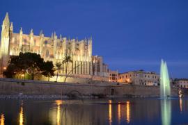 Catedral de Palma y Parc de la Mar, Mallorca
