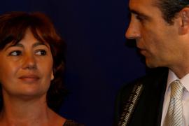 Francina Armengol y José Ramón Bauzá