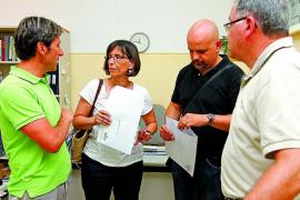 Los tres directores expedientados en Maó volverán a sus puestos en febrero
