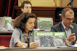 Més da por perdida la legislatura de Bauzá y dice que sólo ha conseguido dividir a Balears