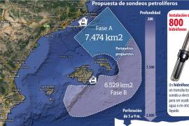 Una nueva campaña de prospecciones petrolíferas amenaza la costa balear