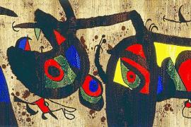 Fitur desvela la exposición de Miró que viajará Eivissa, Menorca y Mallorca