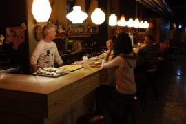 El bar Farina, cafetería en Palma.