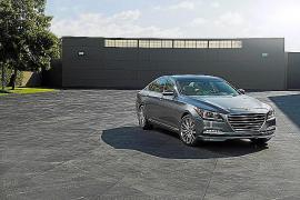 Hyundai da a conocer su berlina premium Genesis