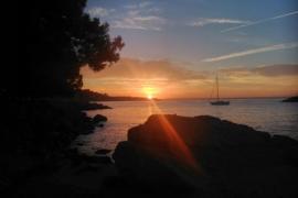 Amanecer en Cala Nova, Palma