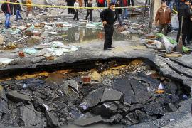 El terrorismo destruye la Dirección General de Seguridad en el Cairo