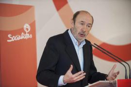 Rubalcaba: «Lo peor de la crisis está por llegar para muchos colectivos»