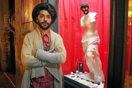 Albert Pinya exhibe en Madrid una obra inspirada en Dámaso Alonso y David Lynch