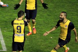 La pegada y los errores del Rayo le bastan al Atlético en Vallecas