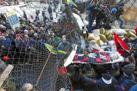 Las protestas contra el Gobierno se extienden desde Kiev a toda Ucrania