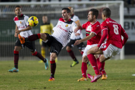 El Mallorca sufre otro ataque de vértigo