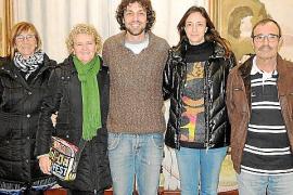 Entrega del V Premi Llorenç Moyà d'Obres Dramàtiques a Antoni Lluís Reyes en Can Gelabert de Binissalem