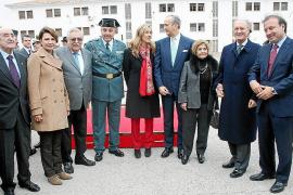 Toma de posesión del nuevo coronel jefe de la Guardia Civil de Balears