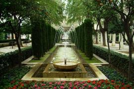 Fuente de s'Hort des Rei en Palma de Mallorca