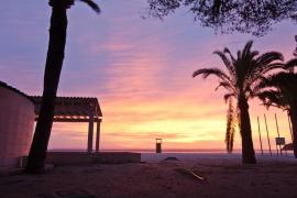 Un amanecer en el mediterráneo