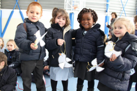 Día de la No Violencia y la Paz en colegios de Mallorca