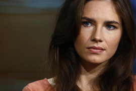 """Amanda Knox appears on NBC News' """"Today"""" show in New York, in this image released by NBC"""