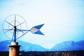 Molino de viento en Mallorca