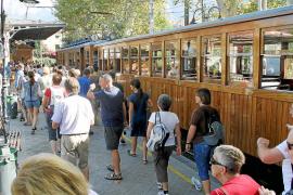 El tren de Sóller, un negocio turístico