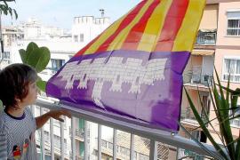 Treinta aniversario de la bandera oficial de Mallorca