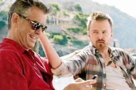 Primeras imágenes de 'A long way down', filme que Pierce Brosnan rodó en Mallorca