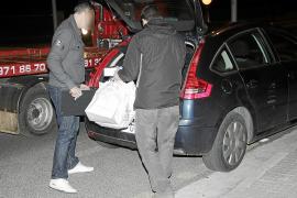 Capturado tras nueve horas de búsqueda el atracador de la gasolinera del Port de Pollença
