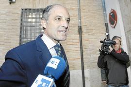 Camps dice que nunca habló con Urdangarin de los foros de Valencia