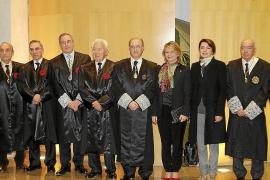 El presidente del TSJB, Antoni Terrasa, ingresa en la Academia de Jurisprudencia