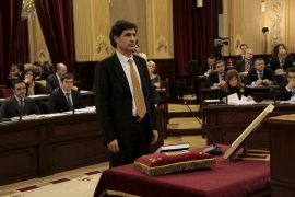 Miquel Àngel Mas toma posesión como nuevo diputado de MÉS