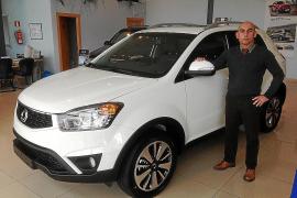 El nuevo Korando, en Frau Automotor