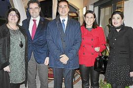 Recepción en la residencia oficial del cónsul de Marruecos en las Illes Balears