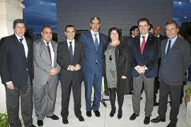 Recepción del cónsul de Marruecos con motivo de la visita del ministro Rabbah