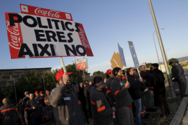 Más del 90% de la plantilla de Coca Cola Palma secunda el segundo día paro
