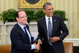 Hollande visita a Obama para relanzar la economía y la cooperación exterior