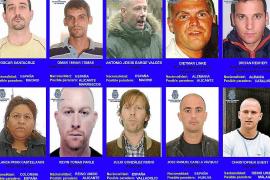 La policía busca a diez fugitivos que podrían esconderse en España