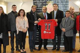 El RCD Mallorca, con Pollença y el club Santanyí