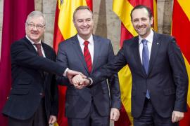 Balears, Valencia y Murcia exigen a Rajoy un modelo de financiación menos opaco