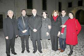 Encuentro en el Palau Episcopal con los nuevos canónigos