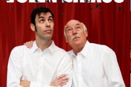 Joan y Frederic Bibiloni, mano a mano en 'Els tords volen baixos'