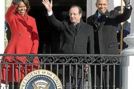 Obama y Hollande firman una alianza para colaborar en Irán y Siria