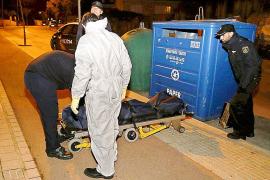 Un hombre muere cerca de Son Dureta tras quedar atrapado en un contenedor de papel