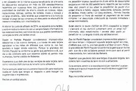 El PP crea una nueva tarjeta que ofrece descuentos comerciales a sus afiliados