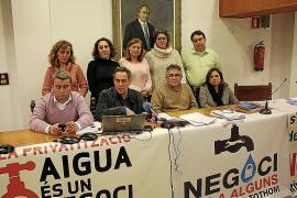 La oposición teme que el PP quiera volver a impulsar la privatización del agua en Inca