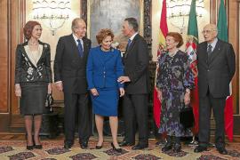 Doña Sofía se incorpora en el último momento al viaje del Rey a Portugal