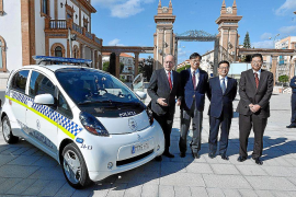 Málaga adquiere 20 Mitsubishi i-MiEV